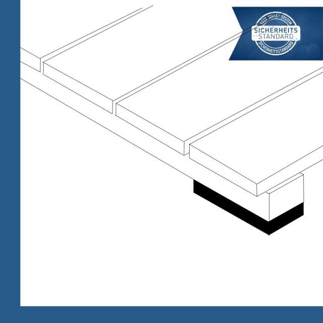 JustiFix J 5H - Unteregepads für Terrassenkonstruktion