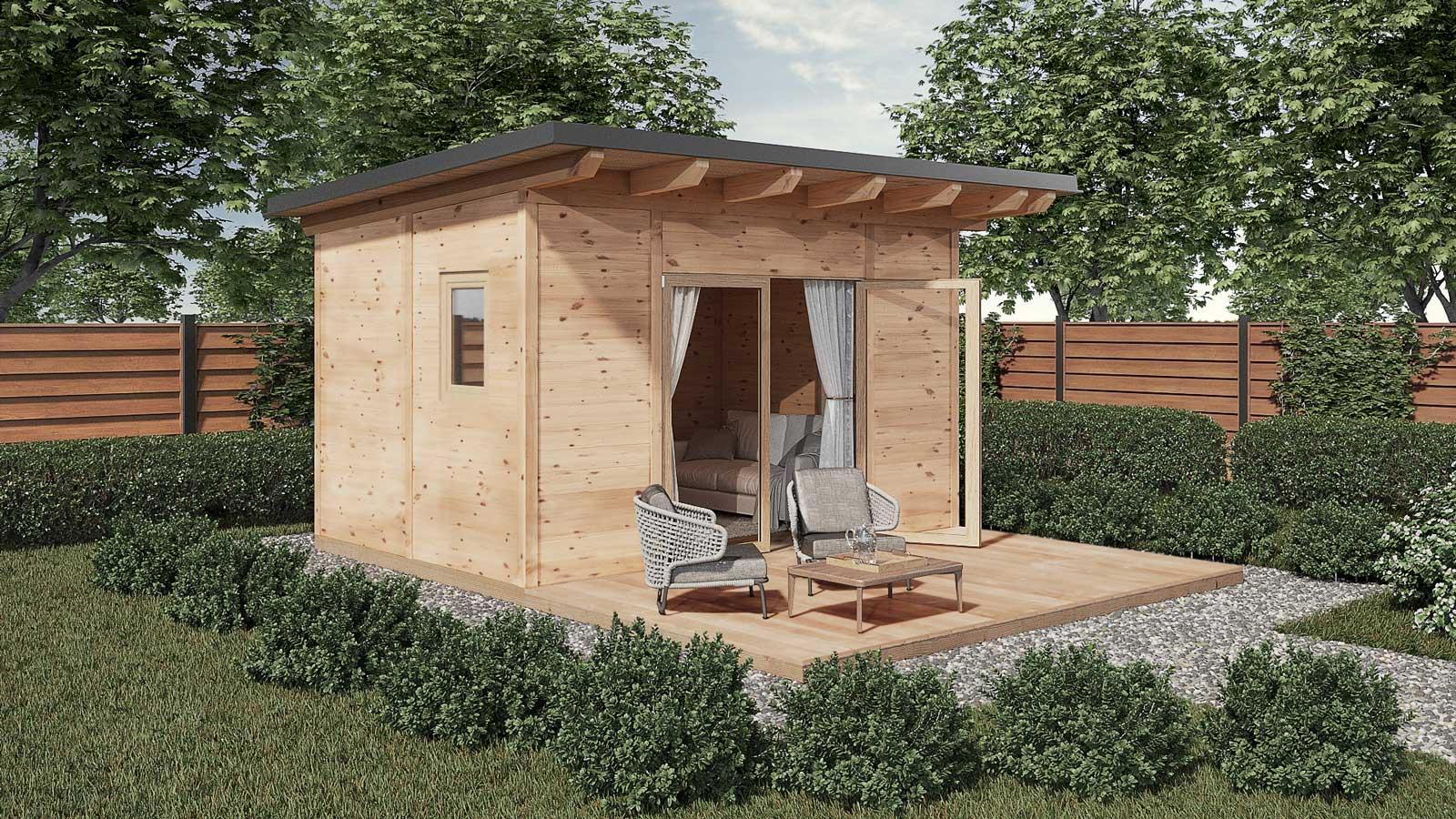 Gartenhaus Aus Holz Kaufen Individuelles Gartenhaus Planen Bauer Holz