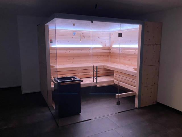 Sauna im Keller - nach Maß gebaut