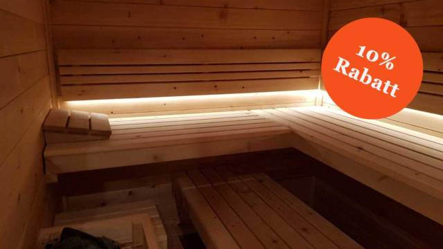 10% Rabatt auf Ihre Sauna - Herbstaktion 2019