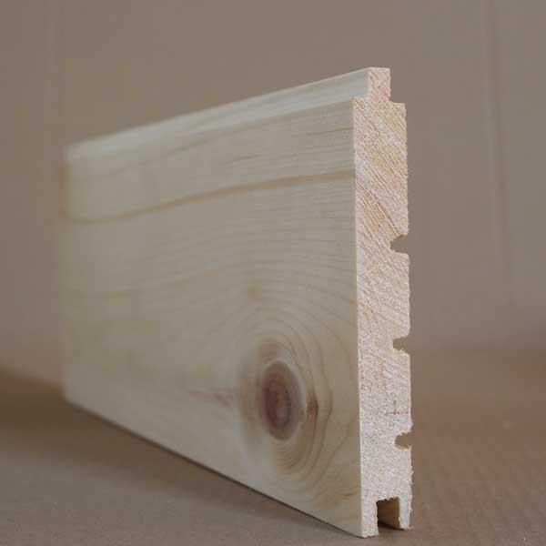 Dielen aus Zirbenholz mit Schiffsbodenprofil