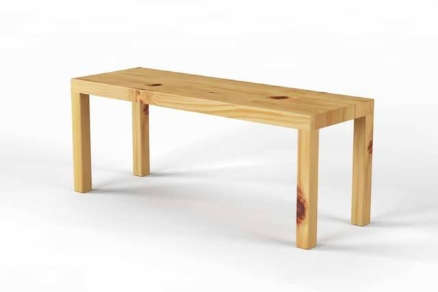 Bettbank aus Zirbenholz | Pina