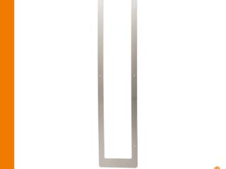 Edelstahlblende für Infrarotstrahler - Saunazubehör von sentiotec