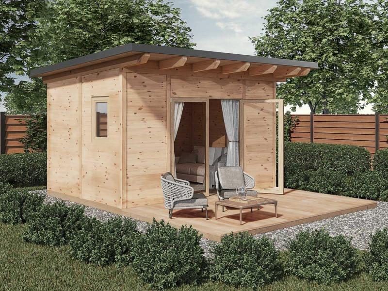 kleine Gartenhütte aus Holz für Ihren Garten
