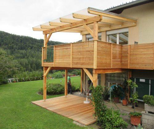 Kaufen Sie jetzt Lärchenholz für Ihren Balkon aus Lärche