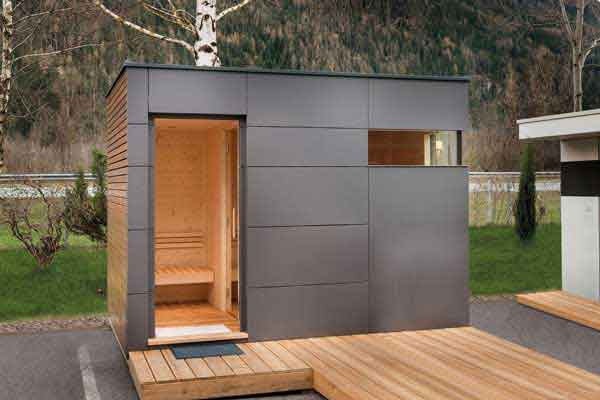 Sauna für Zuhause und den Garten