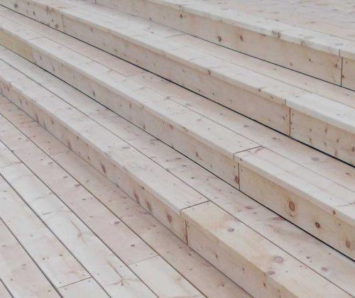 Terrasse aus Zirbe: Jetzt Zirbenholz kaufen