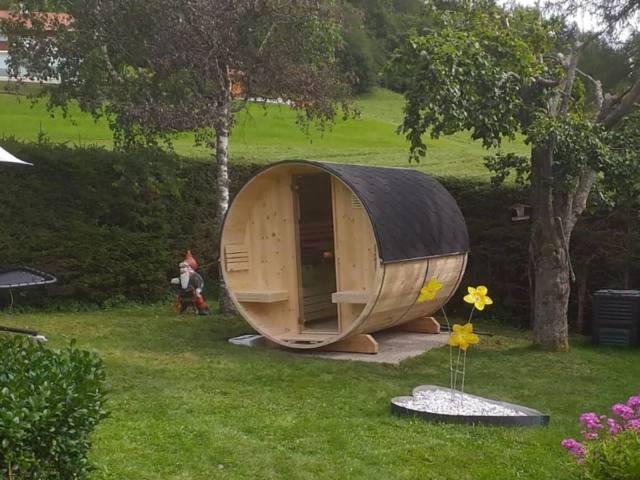 Saunafass - Außensauna