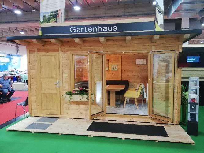 Ausstellungsstück im Abverkauf - Gartenhaus von Bauer Holz