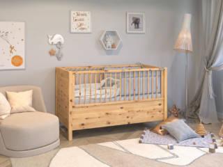 Gitterbett aus Zirbenholz - Das Massivholzbett für die Kleinsten