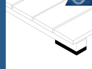 JustiFix J 5H - Unterlegepads für Terrassenkonstruktion