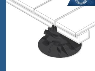 JustiFix2 JK 50 H - Stellfüße für Terrassenbau