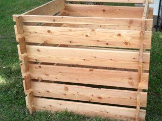 Unser Komposter - einfach aufzubauen und erweiterbar