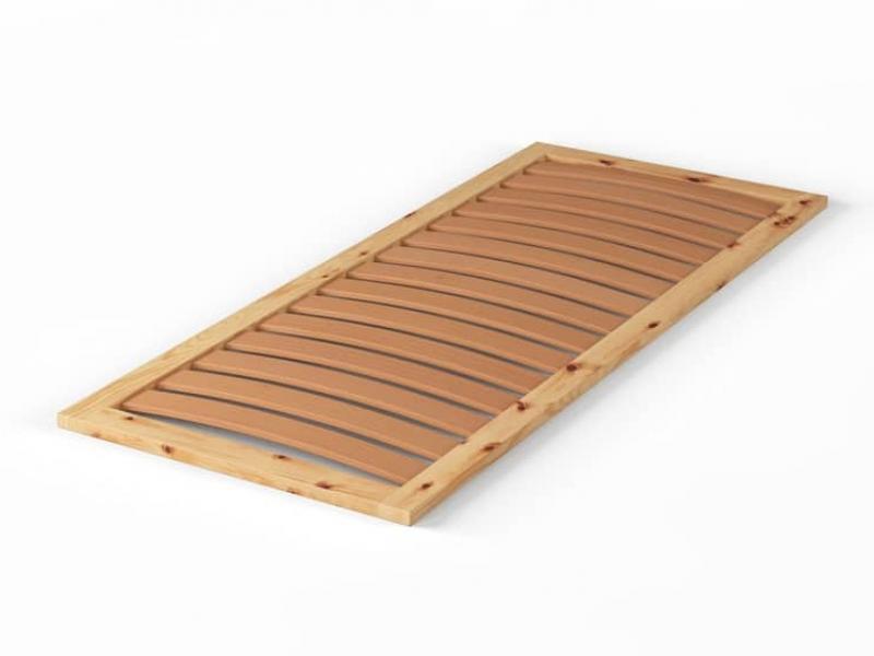 Lattenrost aus Zirbenholz