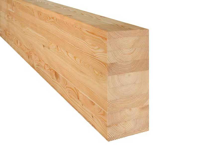 Leimbinder aus Lärchenholz - (BSH)