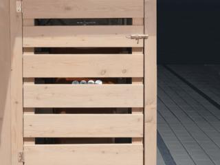 Mülltonnenbox - elegante Behausun für Mülltonnen im Garten