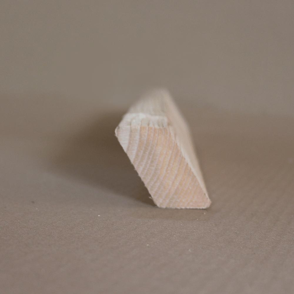 Rhombusleisten aus heimischem Lärchenholz