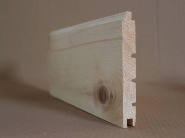 Zirbenholz gehobelt Schiffbodenprofil