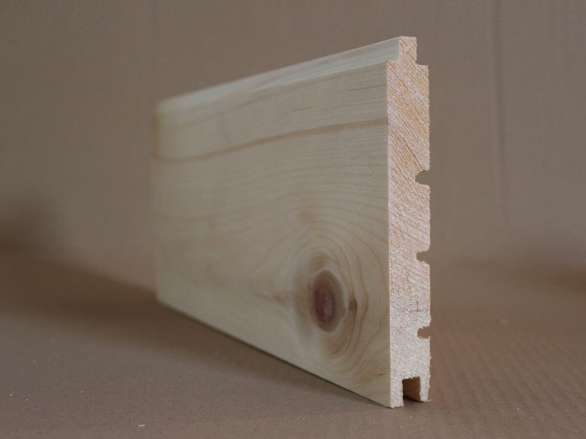 Zirbenholz gehobelt Schiffsbodenprofil
