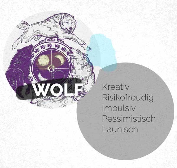Schlaftyp - Der Wolf