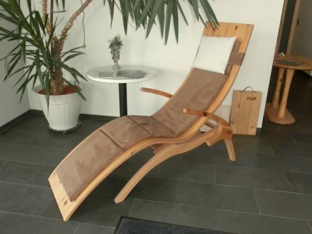 Relaxliege Deluxe - Saunaliege